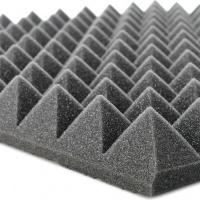 """Акустичний поролон 2Д/70, """"піраміда"""" (1000х1000х70 мм)"""