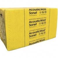 AcousticWool Sonet, 48 кг/м3, 1000*600*50 мм акустична мінеральна вата, (6,0 м.кв.упак.)