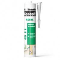 Ceresit CS 11 Acryl білий (280 мл) акриловий герметик