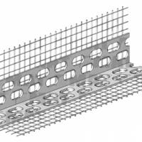CT 340 D/03 Профіль кутовий з сіткою з скловолокна, 23 мм х 23 ммх2,5 м сітка:100 мм х 100 мм (50шт)