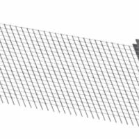 CT 340 A/03 Профіль віконний примикаючий з сіткою з скловолокна, 6 мм х 2,4 м (20шт)