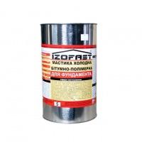 Мастика бітумно-полімерна IZOFAST(20кг)(Україна)