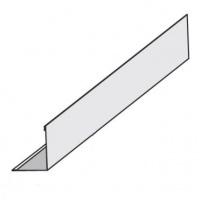 KRAFT Fortis L срібло (19*24*3000) профіль пристінний