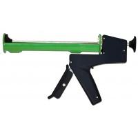 Пістолет для герметика, металевий з противагою
