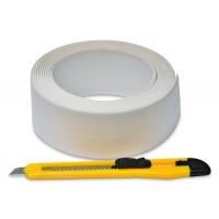 Стрічка-бордюр для ванн + ніж, 28мм х 3,2 м