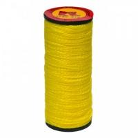 Нитка капронова жовта, 375 текс, 10шт., 40 м Україна