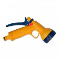 Пістолет-розпилювач пластиковий, 6-позиційний, з фіксатором потоку, VERANO