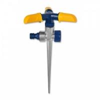 Розпилювач, що обертається, пластиковий на цинковому стрижні, 3-променевий, VERANO