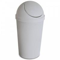 Відро для сміття з поворотною кришкою, кругле, 12л, Україна
