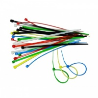 Набір кольорових затяжних ремінців, 2,5x150 мм