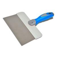 Шпатель сталевий з нержавіючим покриттям, двокомпонентна ручка 150мм