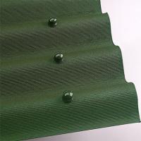 Ондулін зелений лист (2*0,95 м) покрівельно-облицювальний матеріал