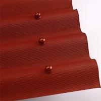 Ондулін червоний лист (2*0,95 м) покрівельно-облицювальний матеріал