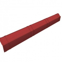 Ондувілла щипець модельний теракотовий (1,04)