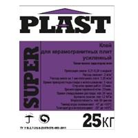 Super Plast (25кг) Клейова суміш для керамограніту посилена