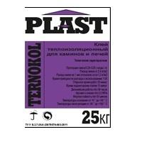 Ternokol Plast (20 кг) Клей теплоізоляційний для камінов та печей