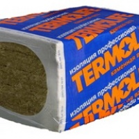 Базальтова вата ТЛ Вент Фасад 1000*600*50 мм 3,6 кв.м./уп 100 кг/куб.м.